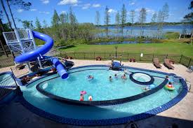 home pools with waterslides. Interesting Pools Swimming Pool With Waterslide And Lazy River At This Vacation Rental Near  Disney World Orlando For Home Pools With Waterslides
