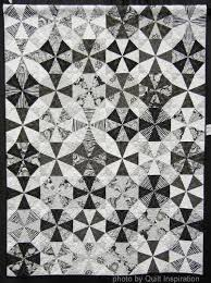Black And White Quilt Patterns Beauteous Quilt Inspiration Modern Quilt Month Beautiful In Black And White