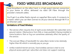 Lte Vs 4g Difference Between 4g Lte Fixed Wireless Broadband