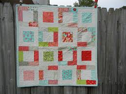 Don't Call Me Betsy: Sweet Girlie Charm Square Quilt Tutorial & Super easy baby quilt Adamdwight.com