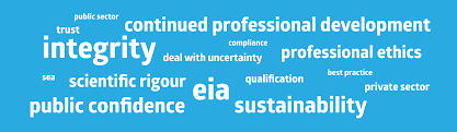 do eia professionals need a professional order environmental and the german environmental impact assessment society i have gained an insight into voluntary professional organizations that promote best practices