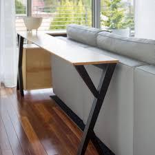 Sofa Table Diy Perfect Diy Simple Sofa Table Rustic E To Decorating Ideas
