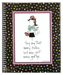 Monthly Bill Organizer Book Bill Paying Organizer Budget Book With Pockets Girl Tude 2264