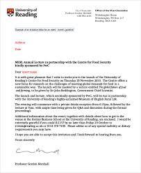 Formal Business Invitation Wording Sample Business Invitation Letter 6 Examples In Word Pdf