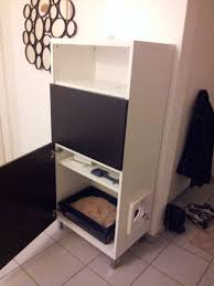 Wooden Litter Box Cabinets Excellent Black Colored Cat Litter Box Furniture Which Is