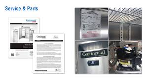 Dl Foodservice Design Video Library Continental Refrigerator