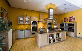 paint colors kitchen oak cabinets butcher block countertop red yellow walls with change color countertops kitchens