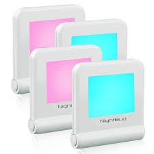 Eco Night Light Sensor Night Lights For Adults Children Perfect Illumination Nightlight Sensor 16 Colors Carousal Mode Comforting Night Light Plug In Eco Friendly 30