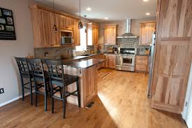 Traditional Kitchens Designs Custom Hickory Cabinets Traditional Kitchen Philadelphia By R
