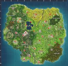 Vending Machine Finder Impressive All Vending Machine Locations So Far Fortnite Insider