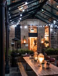 terrace lighting. restaurant festoon lights terrace lighting
