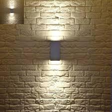 outdoor wall lighting ideas. Garden Wall Lights Contemporary Outdoor Lighting Exterior And Privacy Modern Light Outside Ideas