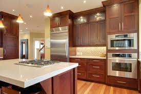 Light Cherry Cabinets Inspiration Idea Light Cherry Kitchen Cabinets