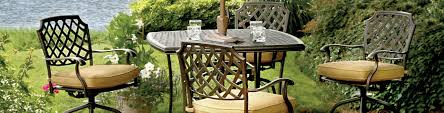bar height outdoor table and chairs baright patio swivel outside