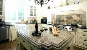 fantasy brown granite with white cabinets