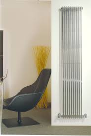 Vertical Radiators Sleek Little Chrome Number Vertical
