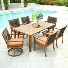 patio furniture at home depot. Home Depot Patio Sets Furniture Outdoor Dining For 8 7 At R