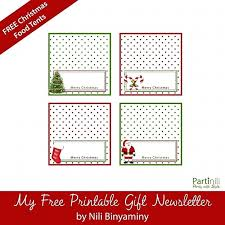 Free Printable Christmas Place Cards Template Calnorthreporting Com