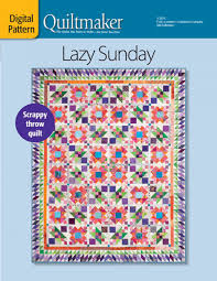 Lazy Sunday Quilt Pattern Download &  Adamdwight.com