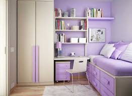 cute teen girl room ideas with purple color theme