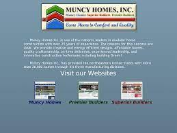 muncy homes s peors revenue