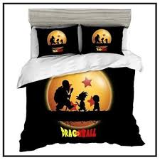 dragon ball z bed sets sheets