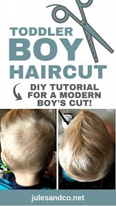 how to cut toddler boy hair at home
