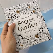 coloring postcards. Wonderful Postcards English Edition Secret Garden 30 Sheets Cards Coloring Books For Adults  With Envelope Tintage Postcards DIY And D