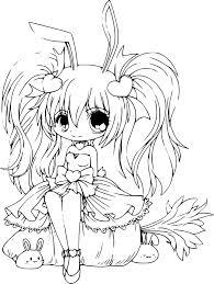 Coloriage Princesse De Manga Imprimer Concernant Coloriage