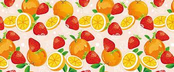 fresh fruit background.  Fresh Fresh Fruits Vector Background On Fruit Background R