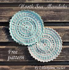Free Crochet Mandala Pattern Stunning North Sea Mandala Free Pattern LillaBjörn's Crochet World