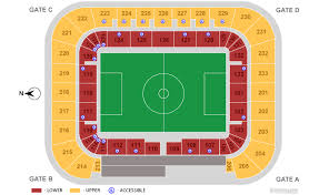 Red Bull Arena Seating Chart Red Bull Arena Seating Map Elcho Table