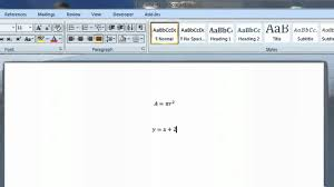 how to use ms word equation editor with smart notebook