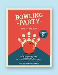 Bowling Event Flyer 16 Bowling Flyer Templates Psd Ai Indesign Free