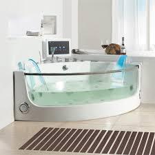 bathtubs idea 2 person whirlpool bathtub corner whirlpool tub white and glass corner jacuzzi bath
