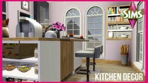Sims 3 Kitchen The Sims 3 The Baseline Kitchen Decor Youtube