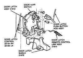 car door latch assembly. Graphic Car Door Latch Assembly B
