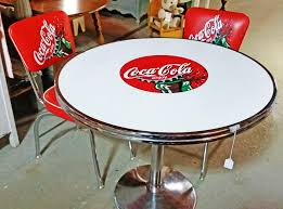 coca cola table and 2 chairs chair design ideas