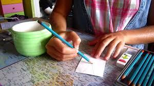 Tuto D Butants Comment Utiliser Des Crayons Aquarellables Les