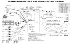 curtis plow side harness