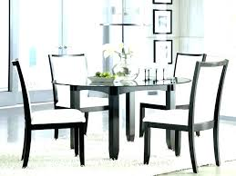 glass top kitchen table set tables dining sets dinette 36 round tab