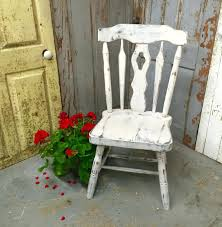 country distressed furniture. White Shabby Chic Chairs Gray Accent Chair Vintage Wood Country Distressed Painted Furniture Dressing Table Stool A