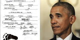 Barack Obama's Half-Brother, Malik, Shares Fake Obama Birth Certificate