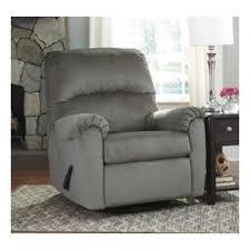 Ashley Furniture Bronwyn Alloy Swivel Glider Recliner
