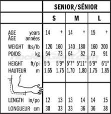 Hockey Elbow Pad Size Chart Best Elbow Pads For Hockey 2019 What All The Pros Use