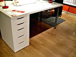 white desk with file cabinet light wood floor idea for office feat multi purpose drawer on base under