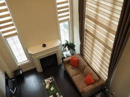 window treatments tall bay