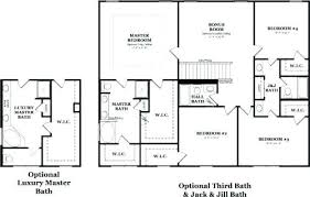 Jack And Jill Bathroom Layouts Bedroom House Plan With Jack And Bathroom  Magnificent Ideas House Plans . Jack And Jill ...