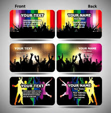 Trend Membership Card Template Vector Eps
