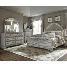 bedroom furniture sets. Magnolia Manor Queen Upholstered Bedroom Set Furniture Sets D